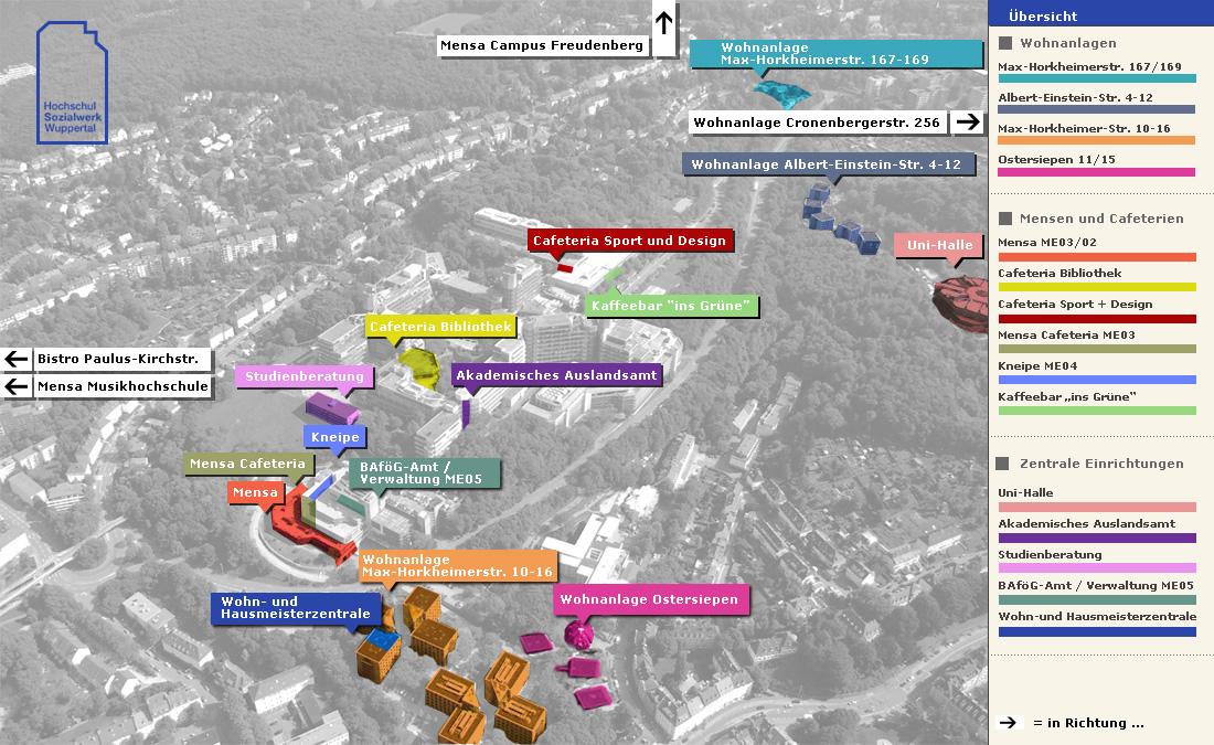 Neue Burse MaxHorkheimerStr 10 16 Hochschulsozialwerk Wuppertal